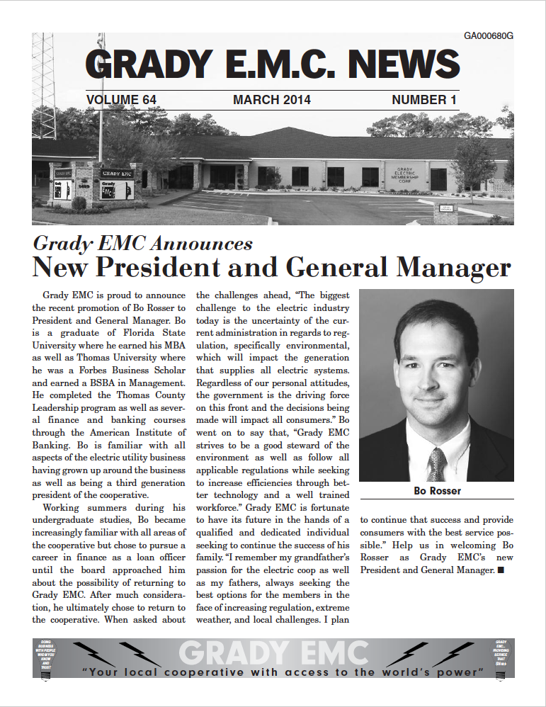 march2014 newsletter
