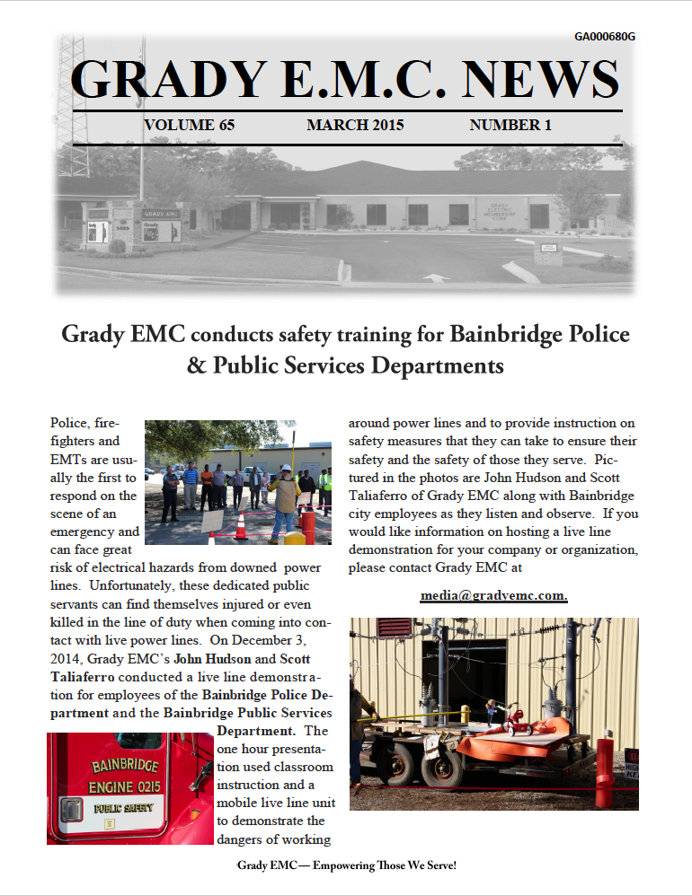 march2015 newsletter